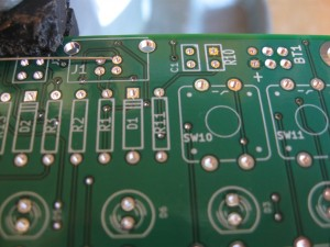 Artemis Synthesizer PCB Closeup