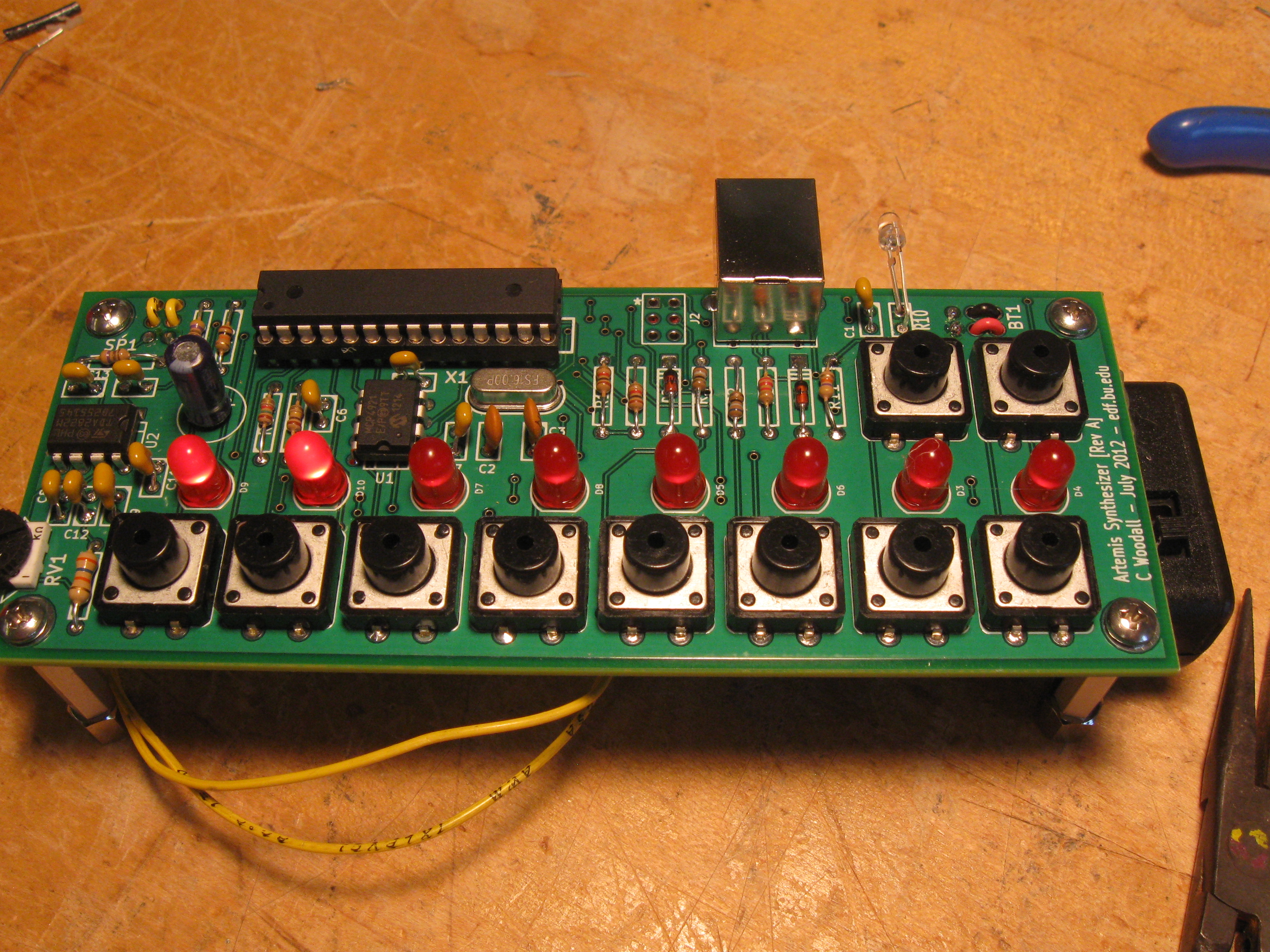 Artemis Synthesizer A Music Synthesizer Kit Happy Robot